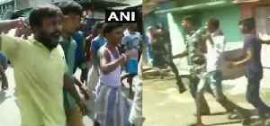 West Bengal cops evict protestors as BJP team visits violence-hit Bhatpara [Video]