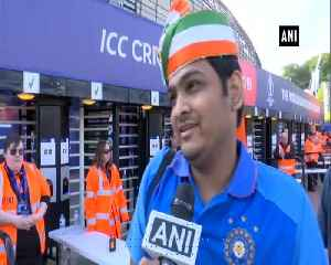 News video: Cricket fanatics arrive at Rose Bowl to cheer their teams as India locks horn with Afghanistan