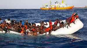 Caught in the act: people smugglers filmed transferring migrants at sea [Video]
