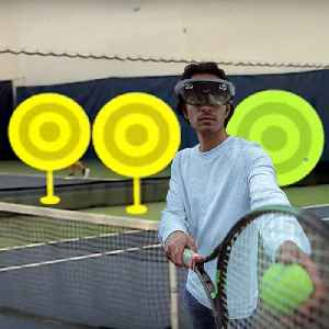 This app uses augmented reality to train tennis players [Video]