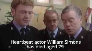 Heartbeat actor William Simons dies aged 79 [Video]