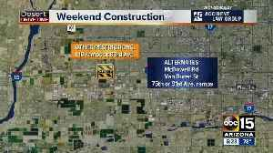 Weekend Traffic Alert (June 21-24): Three Valley freeways will have closures [Video]