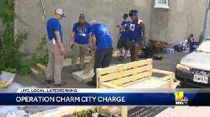 11's Army volunteers with Operation Charm City Charge [Video]