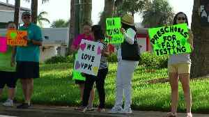 Palm Beach County preschools demand changes to VPK testing during rally [Video]