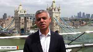 London Mayor Sadiq Khan Says Trump Is A '6-Foot-3 Child' [Video]
