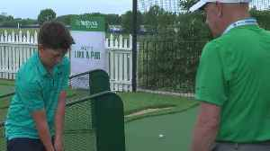 Pro Golfers Give Short Lessons At PGA Championship [Video]