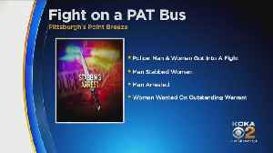 Two People In Custody After A Knife Attack On PAT Bus [Video]