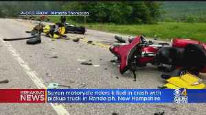 7 Dead After Pickup Truck And Trailer Hits Motorcycles In Randolph NH [Video]