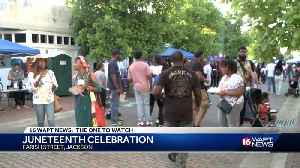 Jackson Juneteenth Celebration [Video]