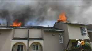Oxnard Apartment Complex Destroyed Following Second Fire In 24 Hours [Video]