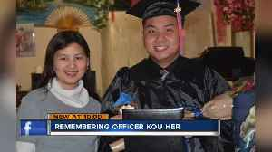 MPD Officer Her's family addresses suspect in crash [Video]