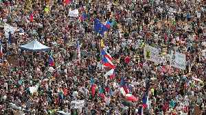 Tens of thousands rally in Prague in biggest protests since Velvet Revolution [Video]