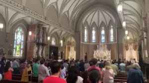 Standing Ovation For Father Lee [Video]
