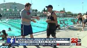 Officer David Nelson End of Watch Workout at Garces High School [Video]