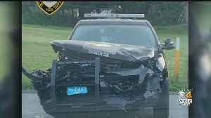 Officer Injured When Allegedly Drunk Driver Slams Into Dartmouth Police Cruiser [Video]