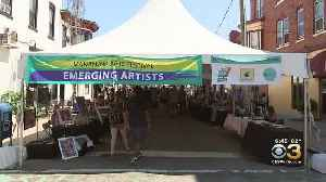 Thousands Pack Streets Of Manayunk For art Festival [Video]