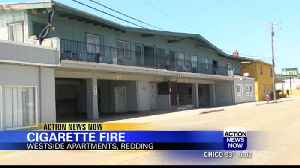 Cigarette butt causes fire at Westside Apartments in Redding [Video]