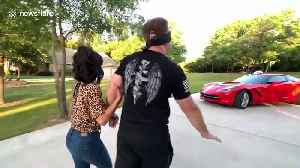 Texas man has emotional reaction to wife surprising him with brand-new Chevrolet Corvette [Video]