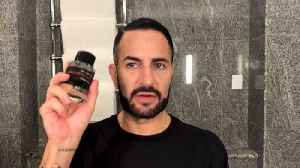 Marc Jacobs Does His Busy Day Beauty Routine—Complete with a Fierce Red Lip [Video]
