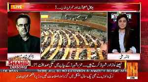 Shahid Masood Response On Ahsan Iqbal's Statement On Mid Term Election.. [Video]