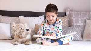 Reading To The Dog May Improve Your Child's Reading Skills [Video]