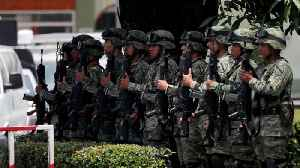 Mexico Has Deployed 15,000 forces To It's U.S. Border [Video]