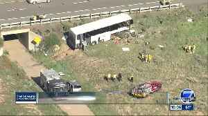 2 dead, several injured after charter bus crash on I-25 near Pueblo [Video]