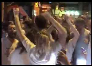 Imamoglu Supporters Dance in Istanbul Following Mayoral Election Win [Video]
