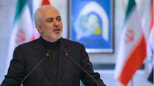 Iran foreign Minister tweets map with detailed coordinates of drone [Video]