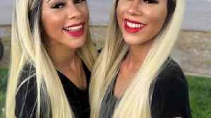 Seeing double – twin sisters lead identical lives by dressing, dating and colouring hair exact same [Video]