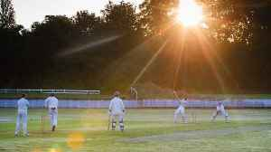 Didn't bat an eyelid! Cricketers set alarms for special summer solstice sunrise match [Video]