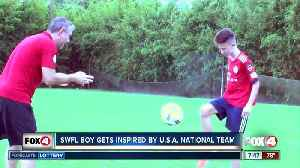 Inspired by US Women's National Team, young player aspires to dominate on world stage [Video]