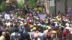 Palestinians hold anti-US rallies on eve of US-led Bahrain conference [Video]