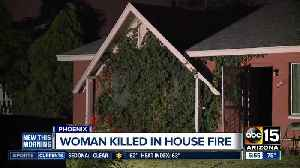 Woman killed in house fire in Phoenix [Video]