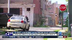 Homicides and shootings mount after another violent weekend in Baltimore [Video]