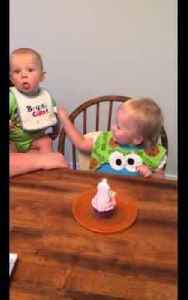 Hilarious Two Year Old Afraid of Birthday Candle Smoke [Video]