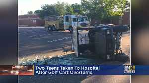 Teens Injured After Golf Cart Flips Over In Edgewater [Video]