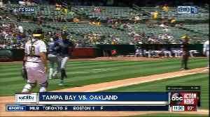 Tampa Bay Rays come out swinging to beat Oakland A's 8-2 [Video]