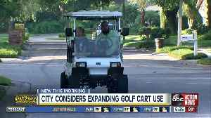 More golf carts could be on Temple Terrace roads [Video]