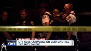 Buffalo police converge on Zelmer Street, two transported to ECMC [Video]