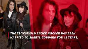 Alice Cooper has death pact with wife [Video]