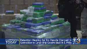 6 Suspects Arrested In Cargo Ship Cocaine Bust To Appear In Court Monday [Video]