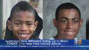 New Billboard In Search For Patrick Alford [Video]