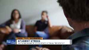 Six out of ten college students report 'overwhelming anxiety' [Video]