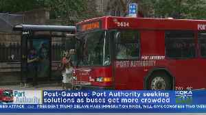 Report: Port Authority Working On Bus Crowding Solutions [Video]