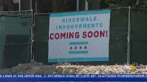 Weeks After Former Mayor Declared Riverwalk Complete, Renovations Still Underway [Video]