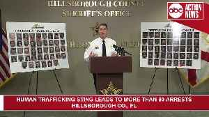 More than 80 arrested in human trafficking sting | Press Conference [Video]