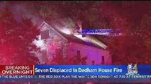 7 Displaced After Fire In Dedham [Video]
