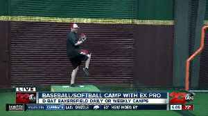 Here's your chance to go to summer baseball camp with an Ex-MLBer [Video]
