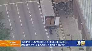 DPD Still Searching For Driver Who Left Tractor-Trailer Outside Federal Building [Video]